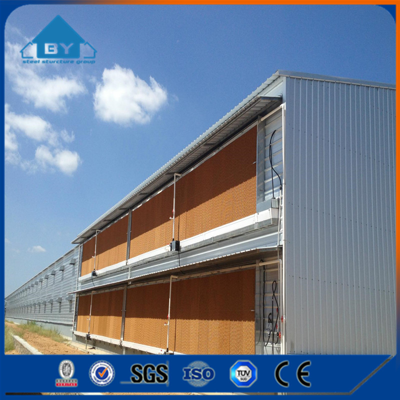Chinese Steel Structure Company Types of Roofs for Poultry Houses