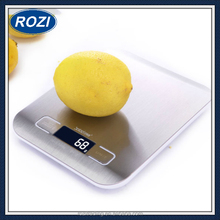 Digital Scale 11 LB / 5000g Kitchen Cooking Measure Tools Stainless Steel