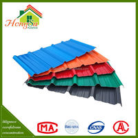 Factory price anti-corrosion plastic rubber roof sheets