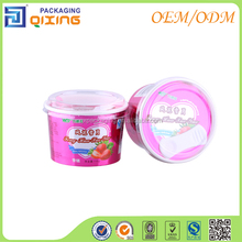 High Quality Ice Cream Paper Cup and Lid Wholesale Custom Printing