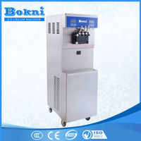 2016 CE approved commercial 3 flavor soft ice cream machine BKN-B46 with stainless steel beater