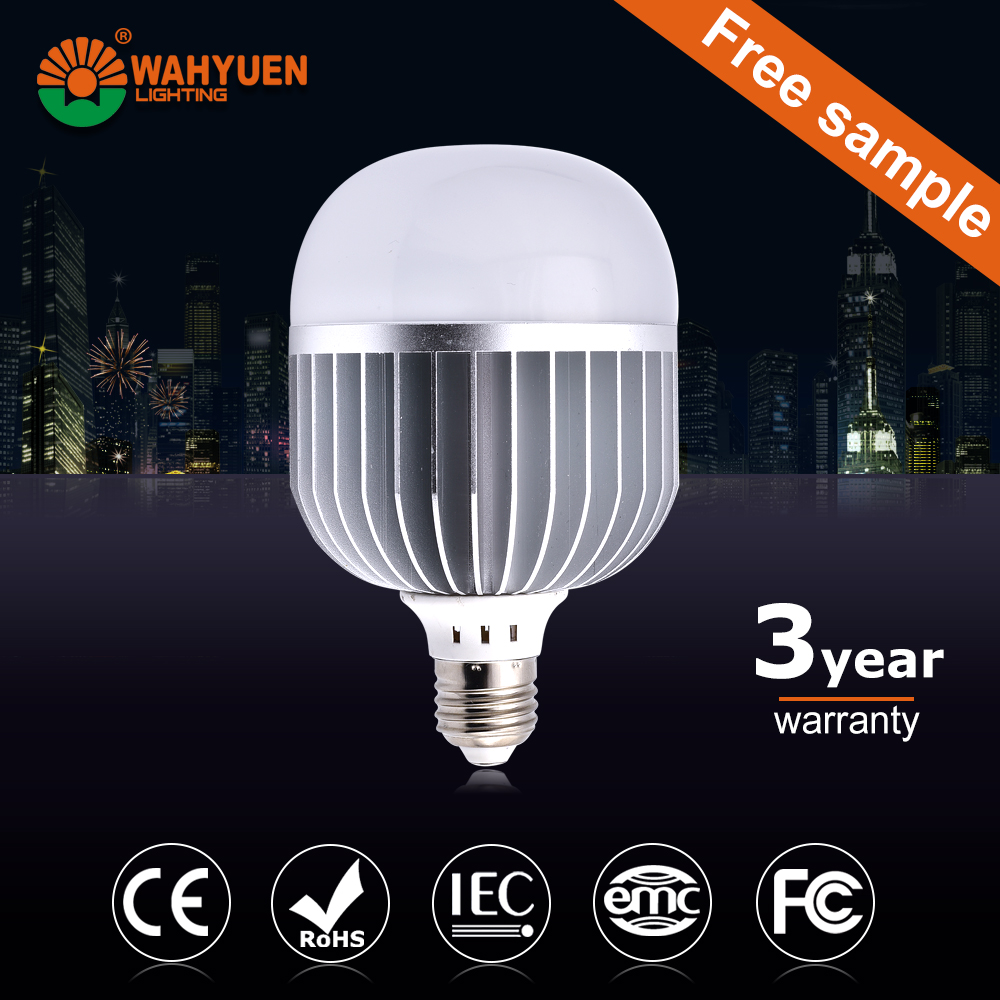 60W aluminum CE Rohs IEC emergency led bulb light with built-in battery