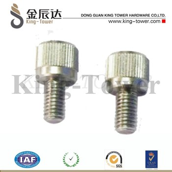 m4 knurled brass thumb machine screws for computer