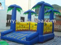 BY12 Hot sale big forest model Inflatable bouncer let you experience the fun in nature