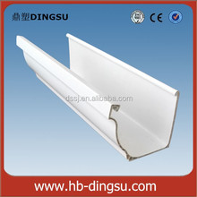 Alibaba China Manufacturer Other Plastic Building Material PVC Valley Gutter , PVC Drainage Downspout