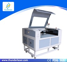 60-120w Destop laser paper cutter machine transport by DHL