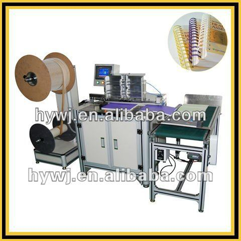 DWC-520A Double Loop Wire Book Binding Machine