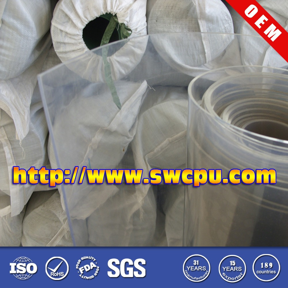 Cheap clear pvc sheet in hard plastic transparent