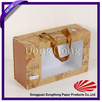 Good quality matte finish printed paper pet gift box packaging