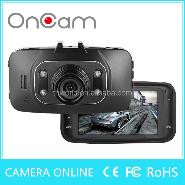 2016 hot sale black box for car model GS8000 with 720P camera 5.0MP lens