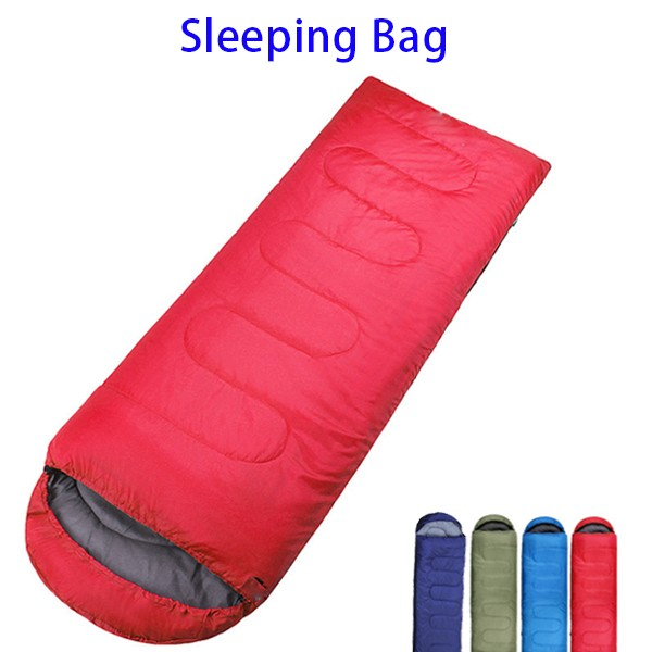 Manufacturer 100% Hollow Cotton Polyester Camping Sleeping Bag with Compression Sack
