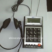 dial pad for headset telephone with CID for caller center telexmarket