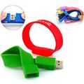 Colorful Cheap Custom Silicone Bracelet USB Flash Drive 8GB for Event