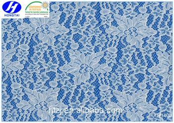 hongtai Tulle Lace Fabric Wholesale spandex crotch chemical lace fabric