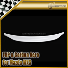 For Mazda MX5 NA MK1 Mia*ta Type 2 Ducktail Rear Spoiler