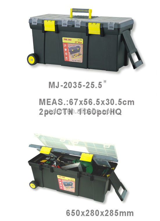 handle plastic tool boxes with wheels