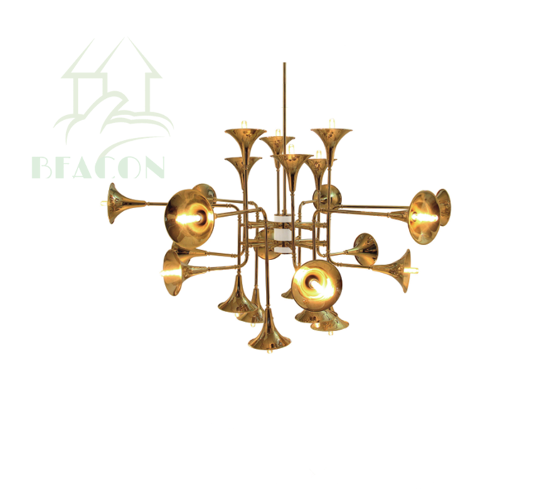 Modern Gold Color Decorative Fancy art Chandelier