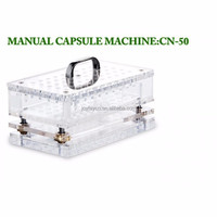 50 Capacity Manual Capsule Filling Machine #000-#5 CN-50