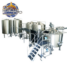 Commercial brewery plant Beer Brewing equipment Micro Brewery Stainless Steel machine to make craft beer