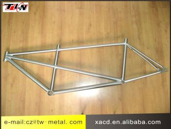 XACD titanium tandem bicycle frame titanium bike frame customized bike part