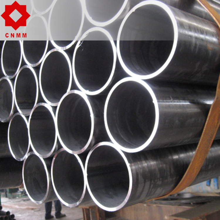 oil transportation welded production line carbon steel pipe in china P.E.