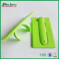 2016 3m Silicone Credit Card Holder for Cell Phone