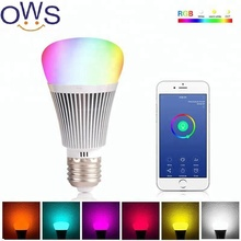 RGB 7W E27 Wifi Smart LED Light Bulb for Amazon Alexa Google Home Remote Control