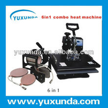 six spare parts for mug, plate, cap and plain pressing of 6 in 1 combo multipurpose heat press machine