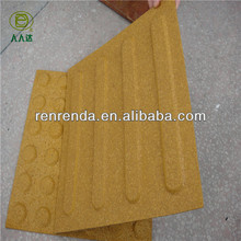 Safe rubber blind tracks bricks