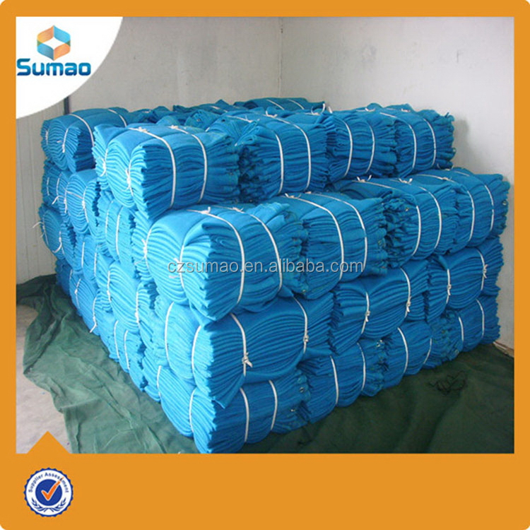 Excellent quality promotional road barrier green safety net