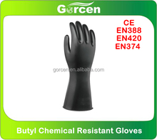 Industrial Butyl Chemical Resistant Gloves