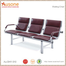 High Quality Airport Stainless Steel 3-Seater public Waiting Chair