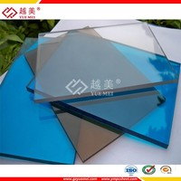 Chinese factory polycarbonate profile uv coating polycarbonate sheet greenhouse polycarbonate swimming pool enclosures