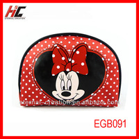Oxford cloth travel cosmetic bag cheap wholesale mickey mouse party bags