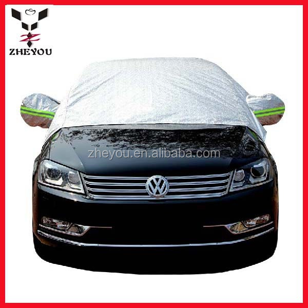 half padded inflatable hail car cover for hail