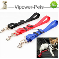 Pet Car Seat Belt Pet Auto Safety Belt Nylon Vehivle Harness For Dog Free Shipping