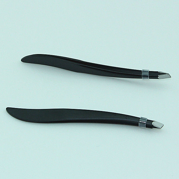 New Arrival Slim Metal Eyebrow Clip Removal Tweezer Make Up Tool