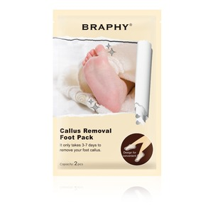 BRAPHY Foot Peel Spa Socks Exfoliating Foot Mask