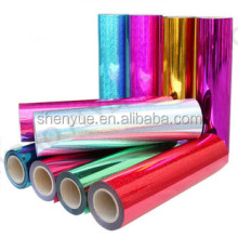 PET heat transfer printing film for plastic