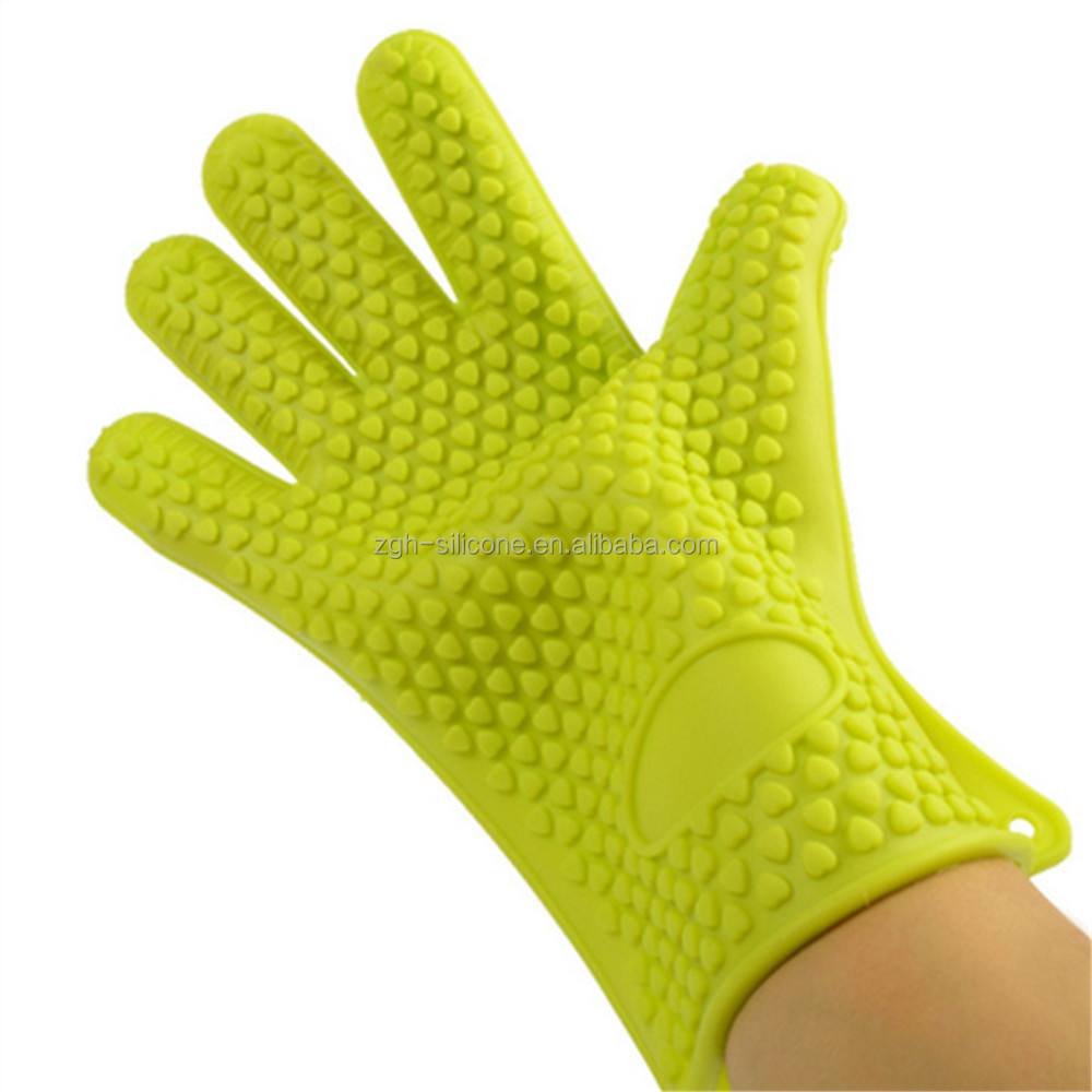 Daily Life Essential Custom Design Silicone Oven Gloves
