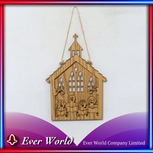 Quality Assured Festival Home Decor Christmas MDF Choir Ornament