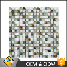 15x15 Fabric Painting Picture in Stone Mosaic Mix Mosaic Mirror For Creative