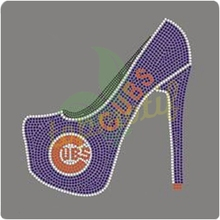 Chicago Cubs High Heel Rhinestone Heat Transfer Wholesale
