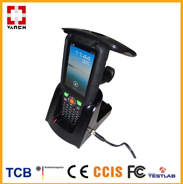 8m Android OS industrial rugged PDA with GPRS/WIFI uhf rfid reader