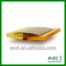 2013 UV protection! polycarbonate accessories polycarbonate sheet connector h and u profile