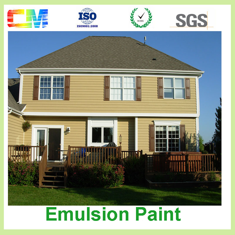 Waterproofing anti stain anti crack decorative emulsion paint for building