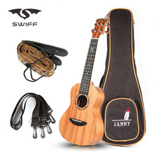 Concert ukulele+Strap Set Good small kids Guitar and Ukulele&Straps no button for sale