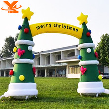 Outdoor Christmas Decorations 2017 Mini Inflatable Christmas Tree For Sale