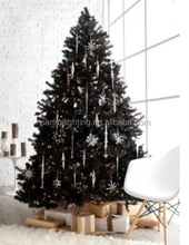 Hot selling PVC cone tree battery fiber optic christmas tree