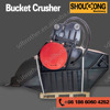 high quality excavator crusher bucket made in China